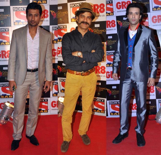 Indraneil Sengupta, JD Majethia and Aamir Ali