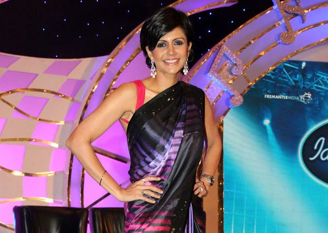 Mandira Bedi in Indian Idol Junior