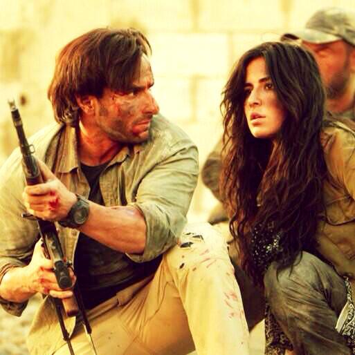 Saif Ali Khan and Katrina Kaif in Phantom.