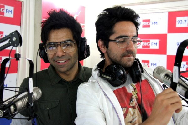 Aparshakti with Ayushmann Khurrana