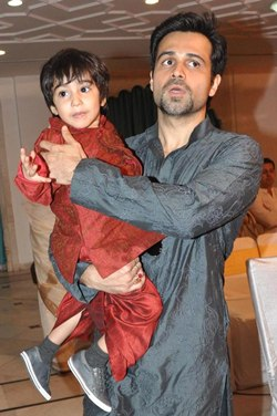 Emraan Hasmi with son Ayaan