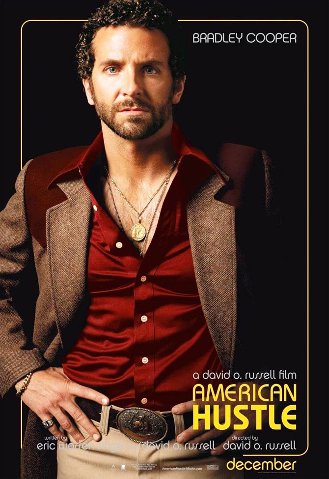 Bradley Copper in American Hustle