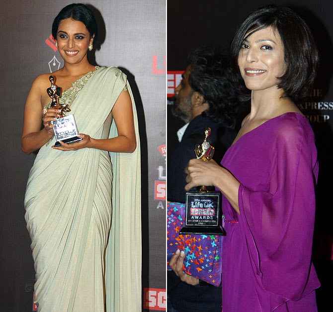 Swara Bhaskar and Shilpa Shukla