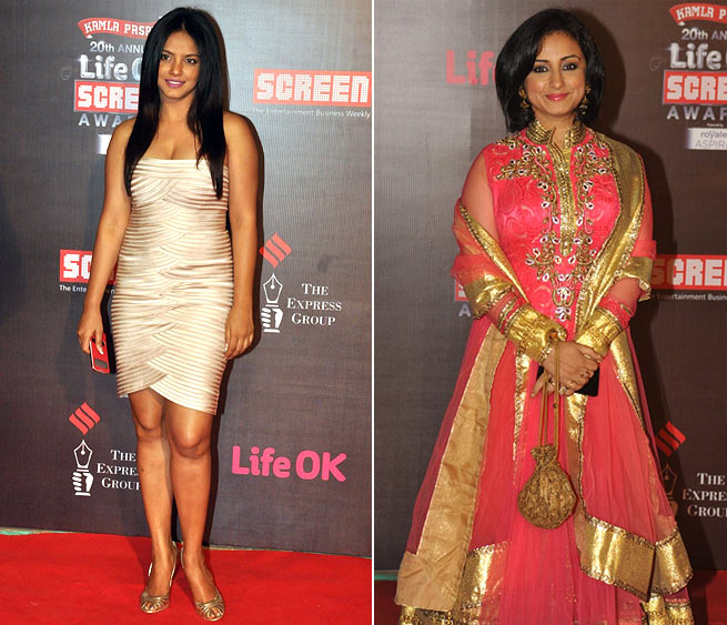 Neetu Chandra and Divya Dutta