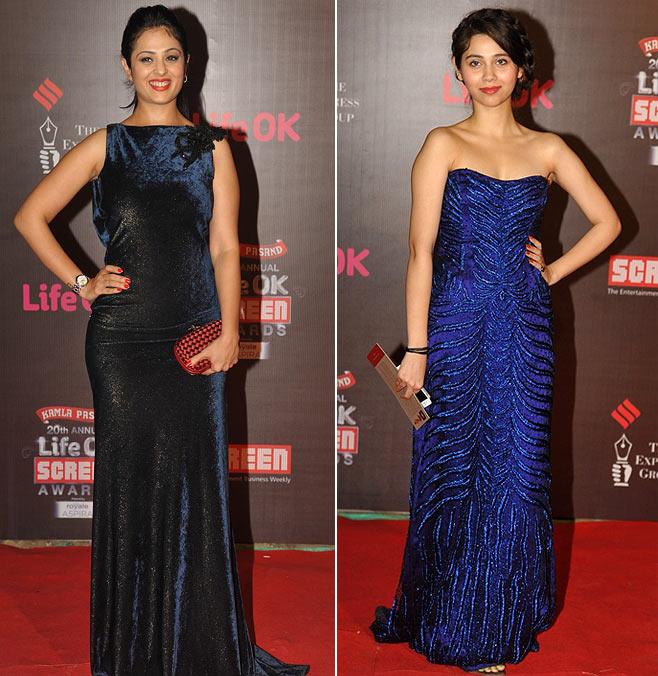 Anjana Sukhani and Sasha Agha