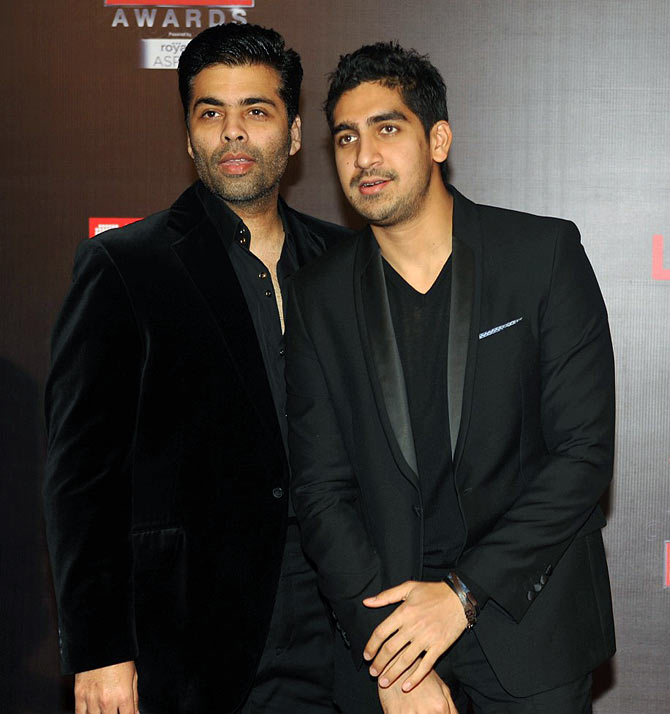Karan Johar and Ayan Mukherji