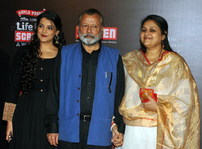 Pankaj Kapur with Sanah and Supriya Pathak
