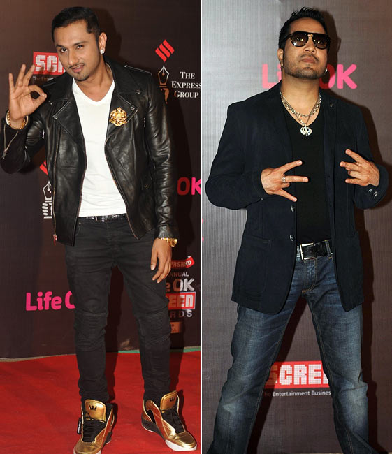 Honey Singh and Mika