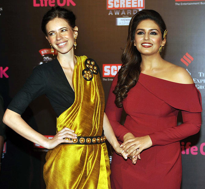 Kalki Koechlin and Huma Qureshi