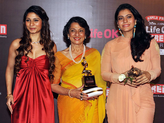 Tanisha, Tanuja and Kajol