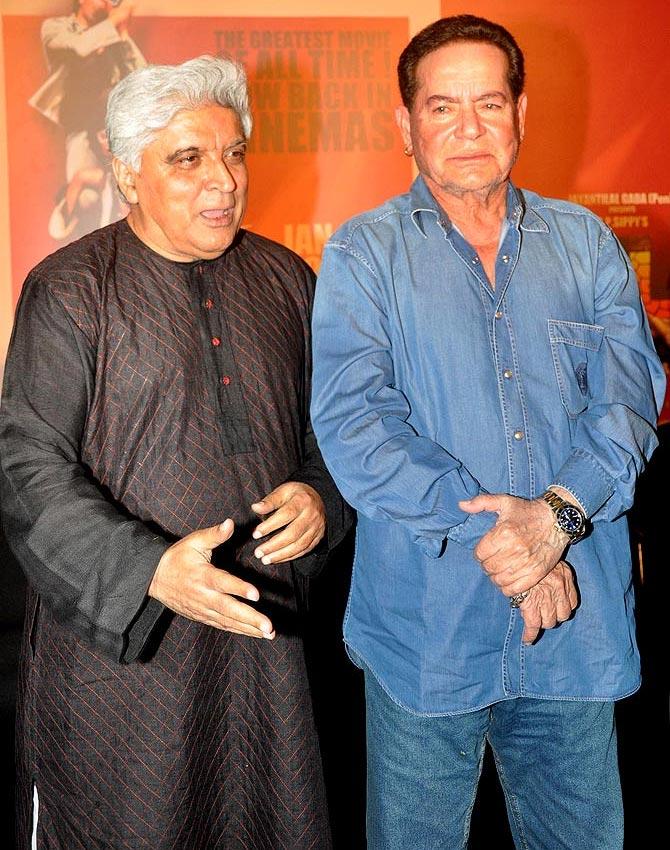 Javed Akhtar and Salim Khan