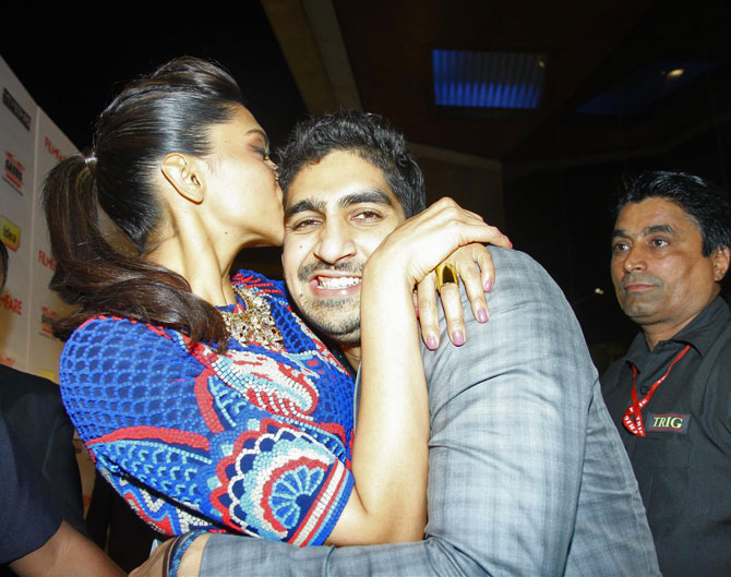 Deepika Padukone and Ayan Mukherjee