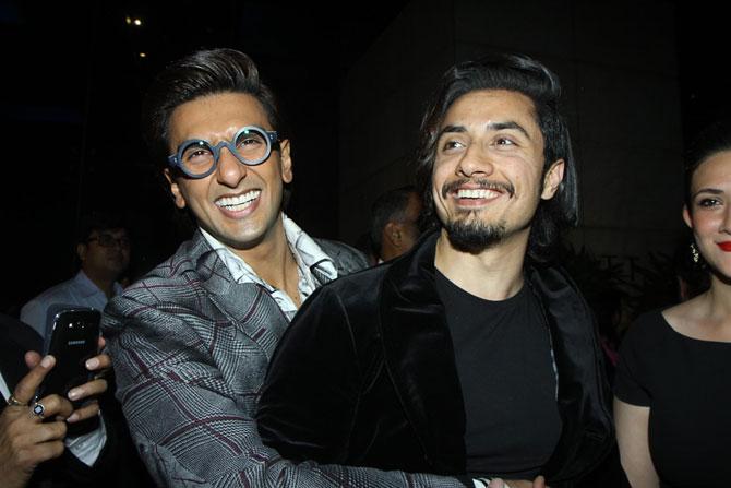 Ranveer Singh and Ali Zafar