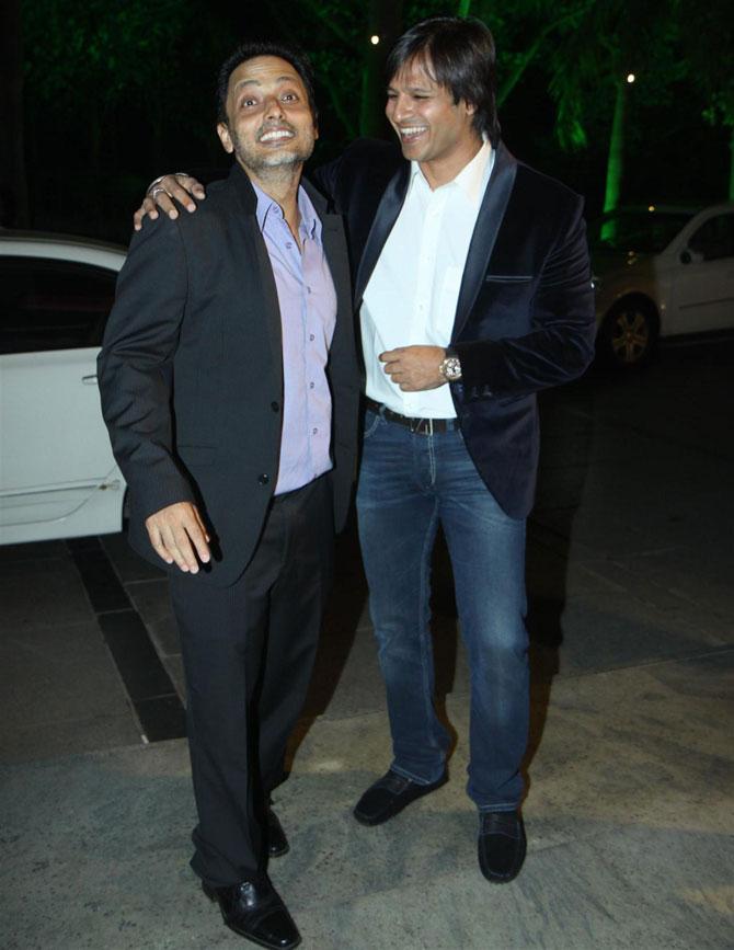 Sujoy Ghosh and Vivek Oberoi