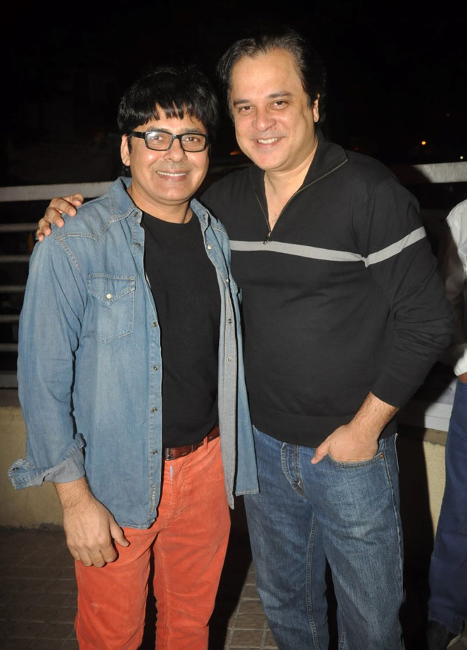Sudesh Lehri and Mahesh Thakur