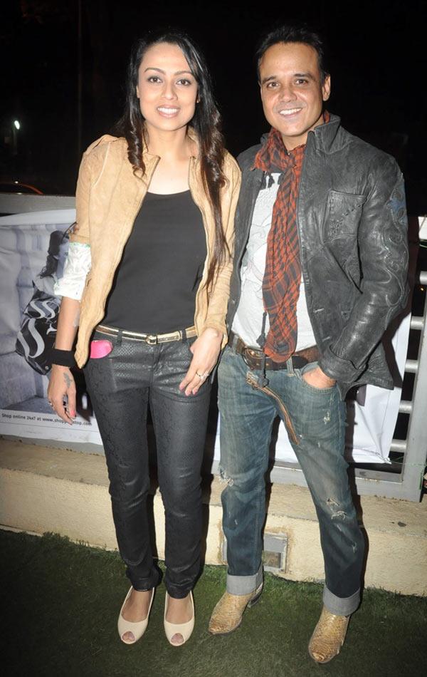 Yash Tonk with Gauri