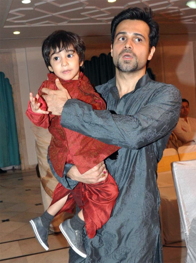 Emraan Hashmi with his son Ayan