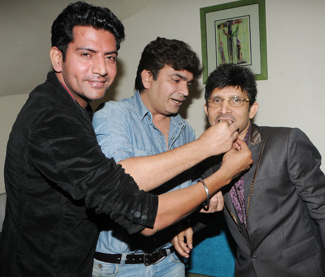 Ashutosh Kaushik and Raja Chaudhary