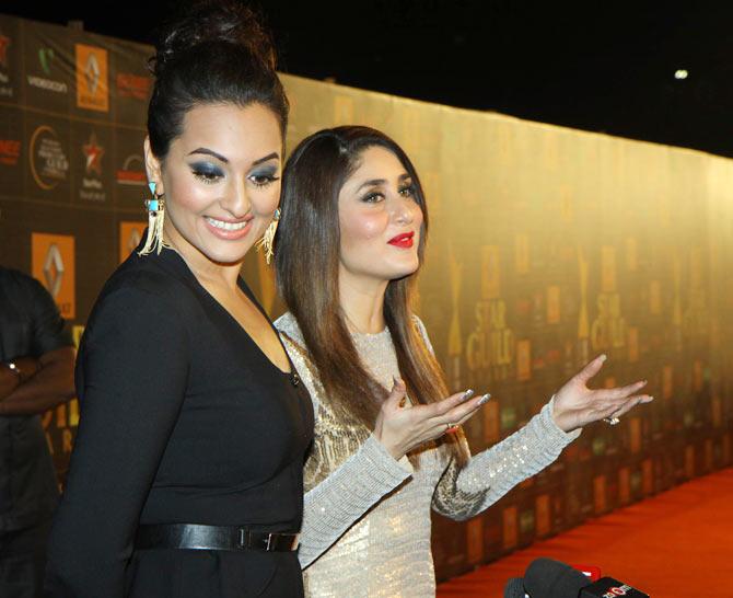 Sonakshi Sinha, Kareena Kapoor