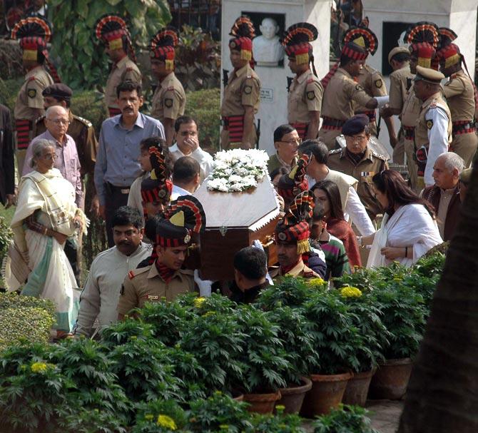 PHOTOS: Suchitra Sen's last journey