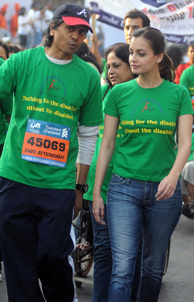 Nagesh Kukunoor and Dia Mirza