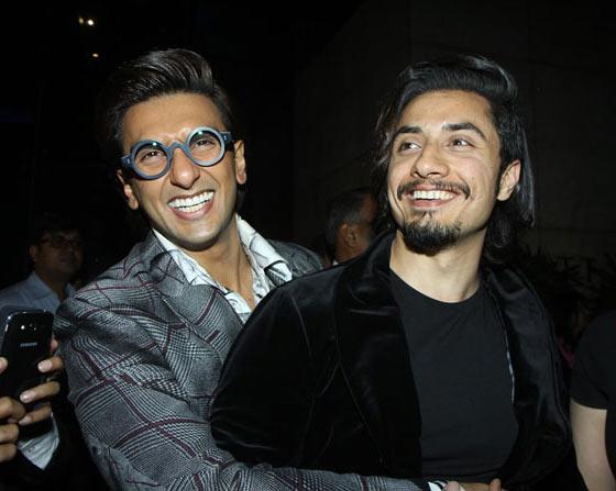 Ranveer Singh with Ali Zafar