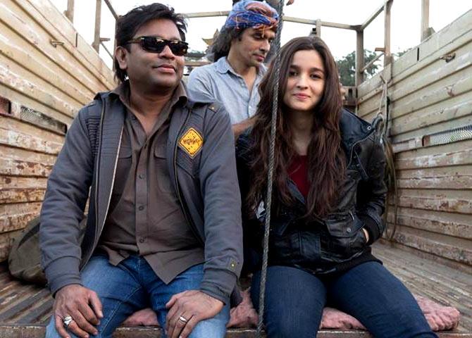 A R Rahman, Imtiaz Ali and Alia Bhatt