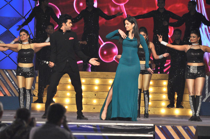 Manish Paul and Katrina Kaif