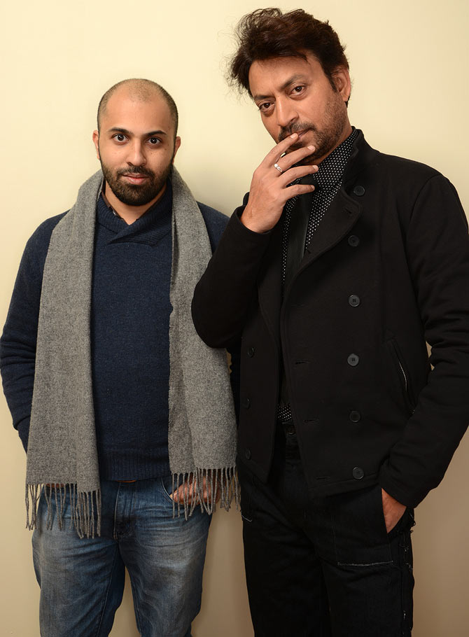 Irrfan and Ritesh Batra