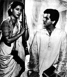 Suchitra Sen and Dilip Kumar in Devdas