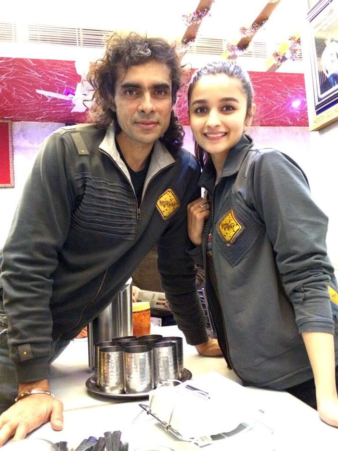 Imtiaz Ali and Alia Bhatt