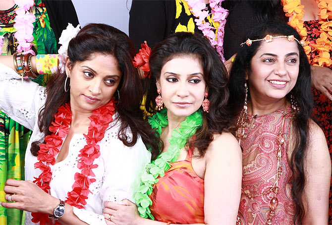 Nadhiya, Lissy and Suhasini