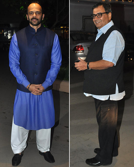Rohit Shetty and Subhash Ghai