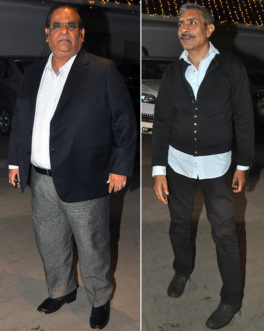Satish Kaushik and Prakash Jha