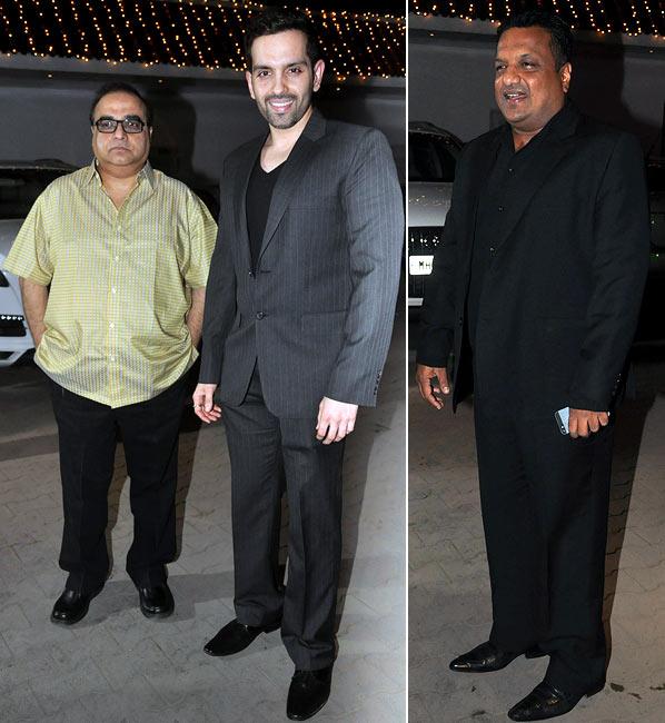Rajkumar Santoshi, Luv Sinha and Sanjay Gupta