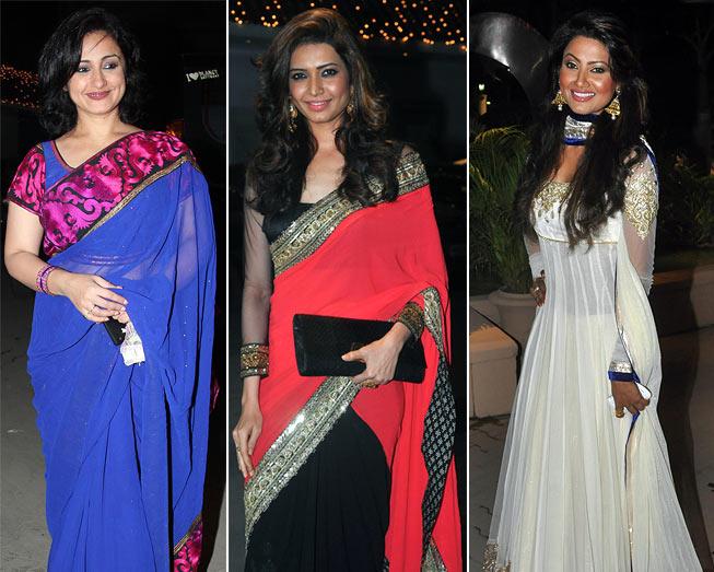 Divya Dutta, Karishma Tanna and Nigaar Khan