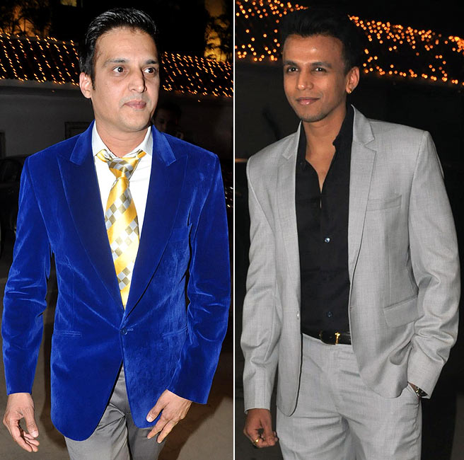 Jimmy Shergil and Abhijeet Sawant