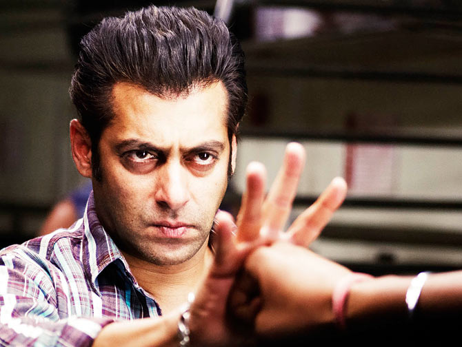 Salman Khan in Wanted
