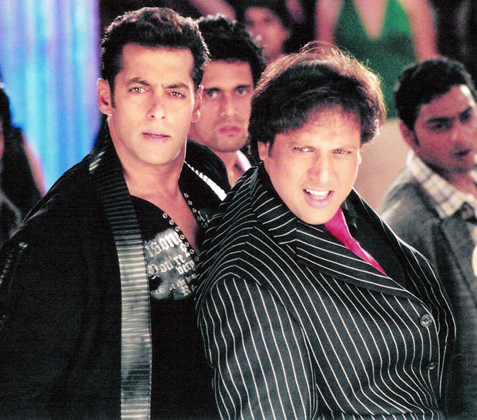 Salman Khan with Govinda in Partner