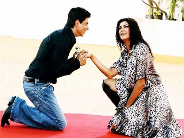 Shah Rukh Khan in Sushmita Sen Dulha Mil Gaya