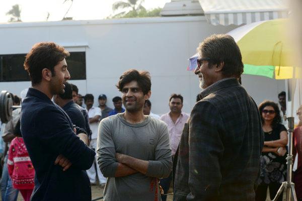 Ranbir Kapoor and Amitabh Bachchan