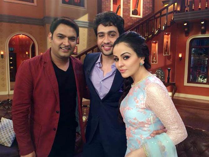 Kapil Sharma, Adhyayan Suman and Ariana Ayam