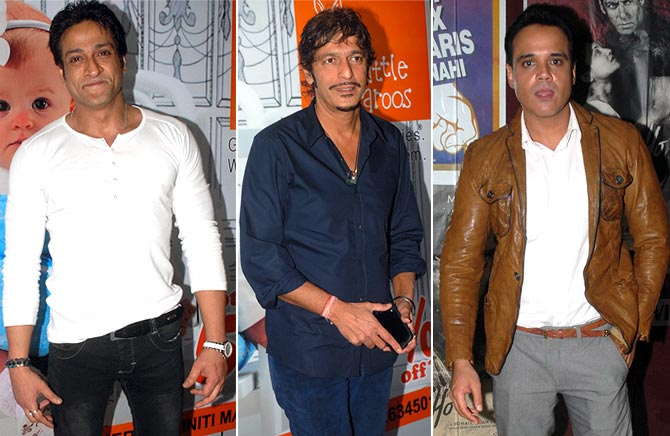 Inder Kumar, Chunkey Pandey, Yash Tonk