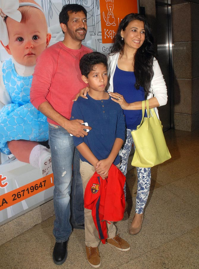Kabir Khan, Mini Mathur and Vivaan