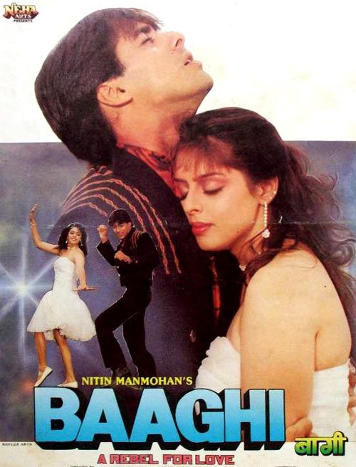 Movie poster of Baaghi
