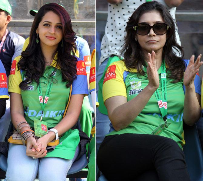 Bhavna and Lissy Priyadarshan