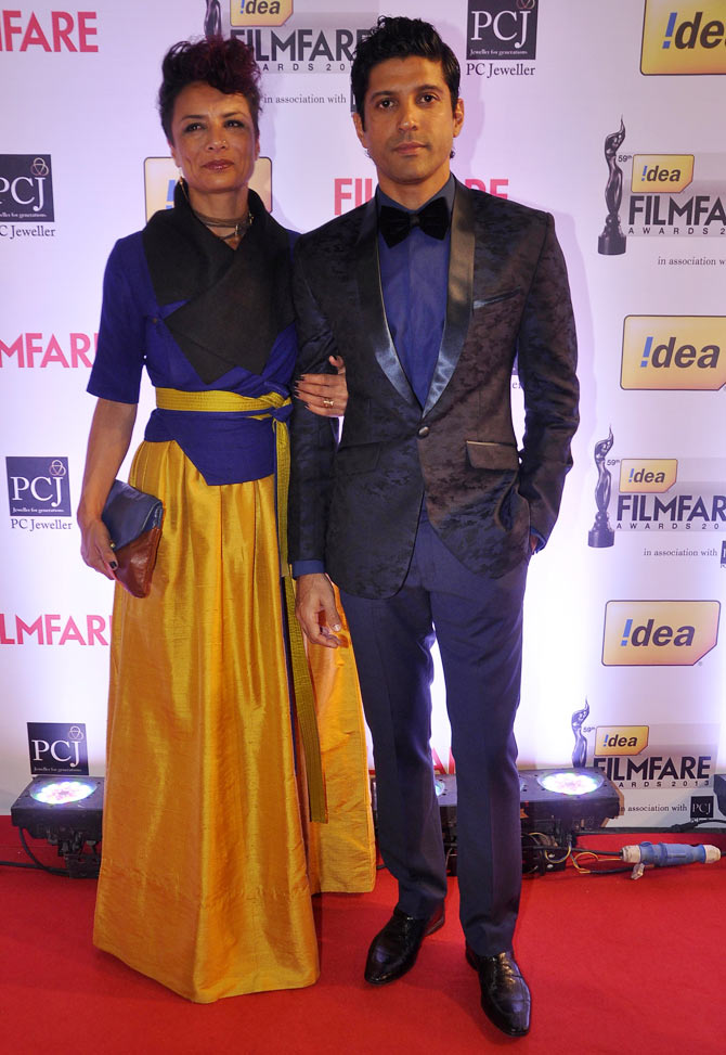 Adhuna and Farhan Akhtar