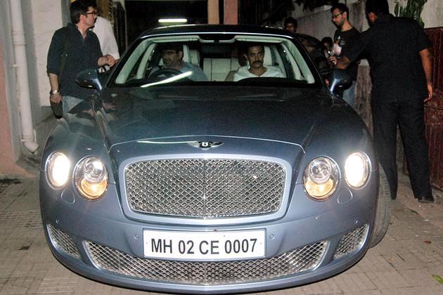 Pix Check Out Salman Shah Rukh John Abraham S Cool Cars Rediff