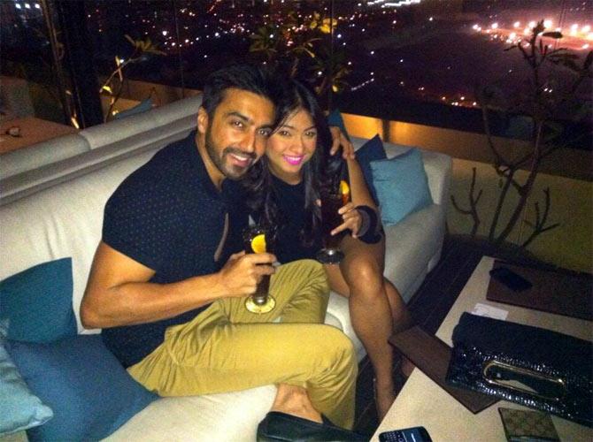 Ashish Chowdhry and Samita Bangargi