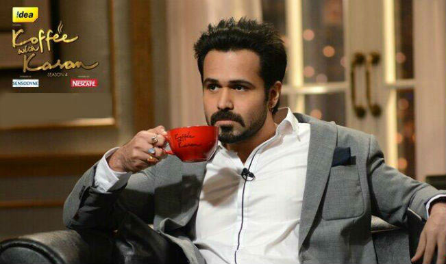 Emraan Hashmi in Koffee With Karan